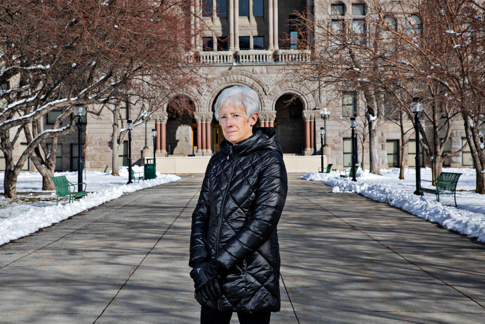 Vicki Bennett, the sustainability director for Salt Lake City, says she's worried that a proposed state law might frustrate her efforts to encourage all-electric construction of new buildings.