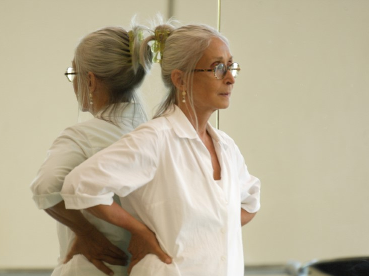 Twyla Tharp, shown above at Pacific Northwest Ballet in 2008, says the pandemic has impacted her body: