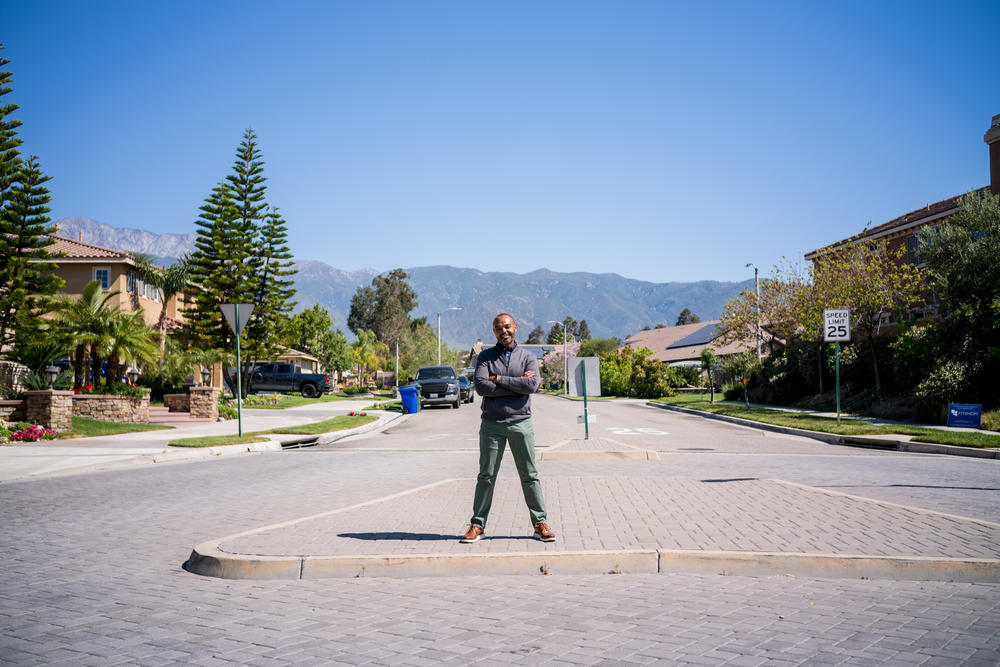 Billy Ross remembers visiting his relatives in newly developed cities like Rancho Cucamonga.