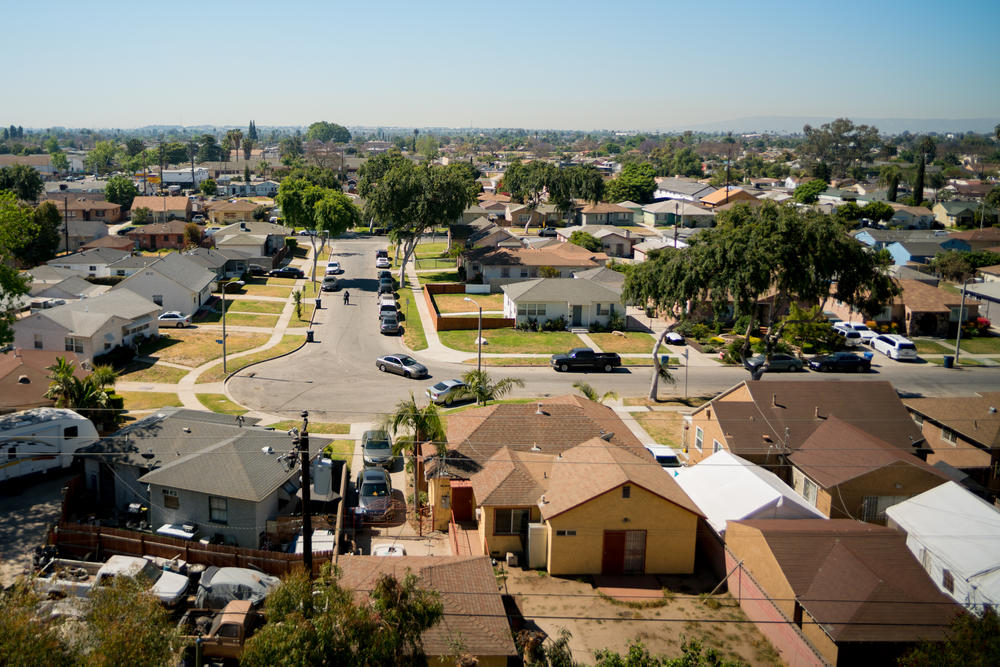 Until the mid-1960s, Compton was a thriving Black city with Black political power — it had elected its first Black councilman, Douglas Dollarhide, who eventually went on to become the city's first Black mayor. Union jobs were opening up to Black workers, and Compton was home to better, integrated schools and a city college.
