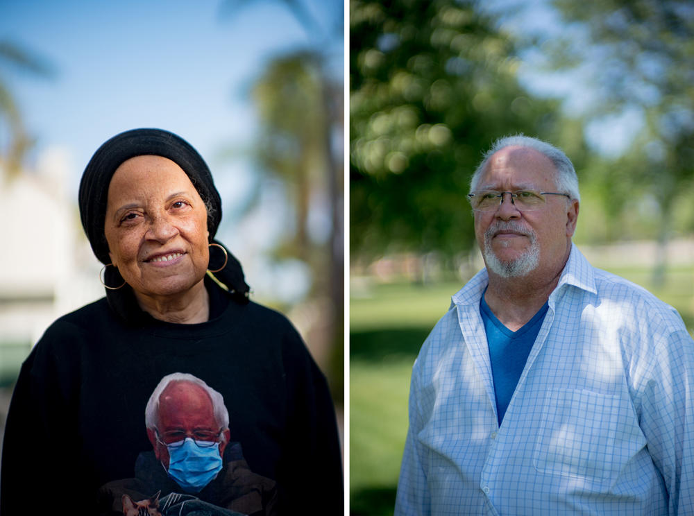 Siblings Rha (left) and Van Nickerson are now 73 and 72, respectively. They spent the formative years of their childhoods in the neighborhood of Sugar Hill.