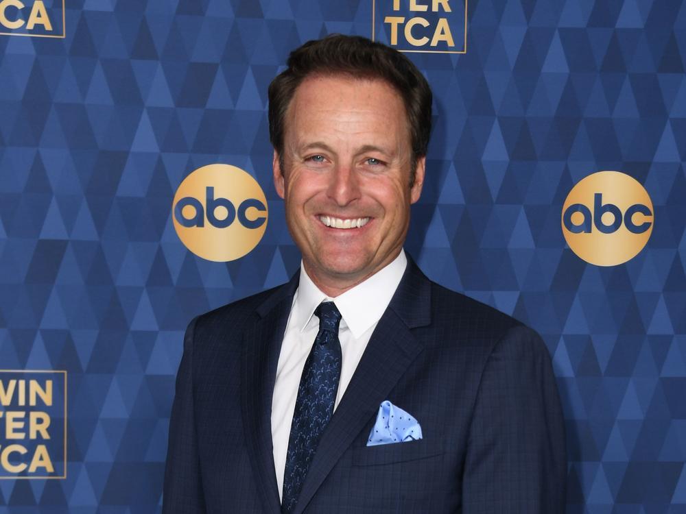 Chris Harrison attends ABC's Winter TCA 2020 Press Tour in Pasadena, California, on January 8, 2020.