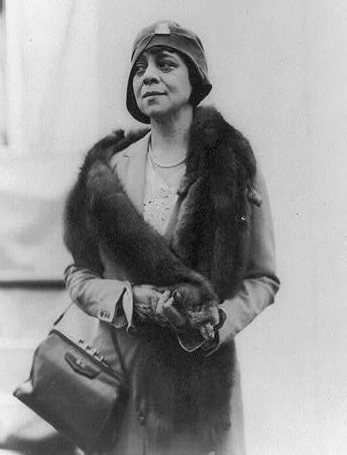 Belle da Costa Greene, the personal librarian of J.P. Morgan.