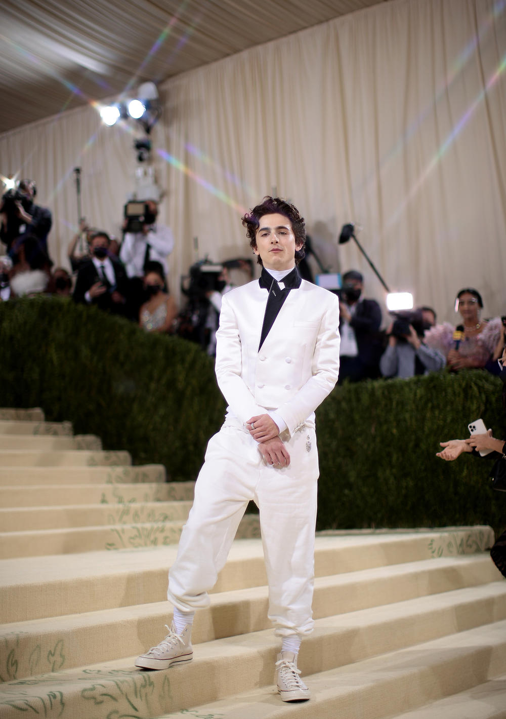 These Chucks were made for walking: Timothée Chalamet <a href=