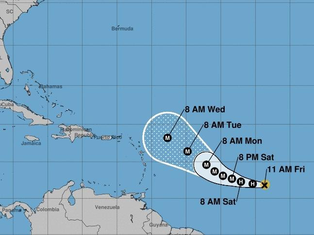 After reaching major hurricane status this weekend, Sam is expected to maintain much of its strength for days afterward.
