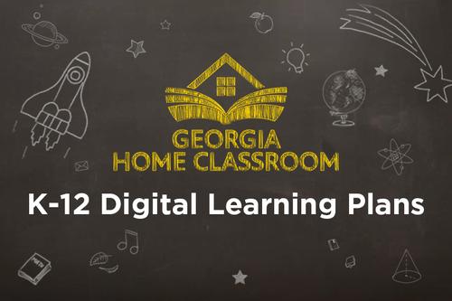K-12 digital learning plans
