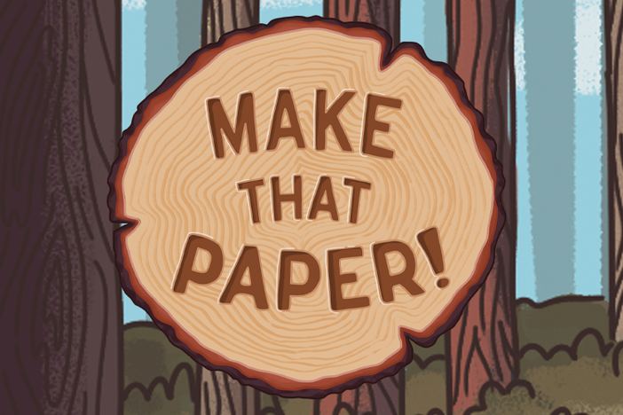 Make That Paper! Game banner