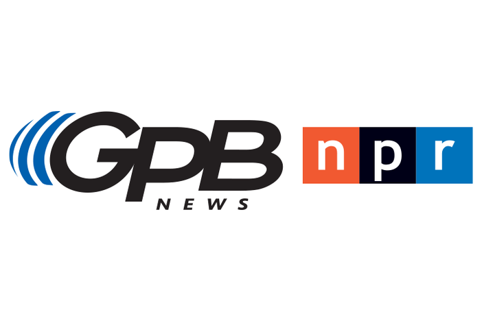 Georgia Public Broadcasting News, National Public Radio logos.