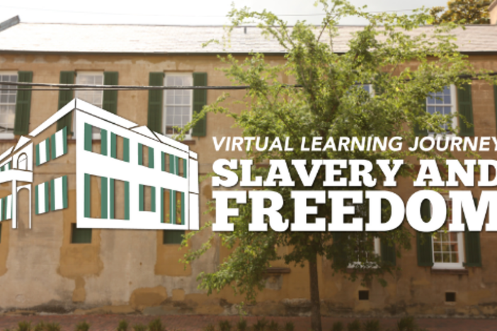 Slavery and Freedom logo
