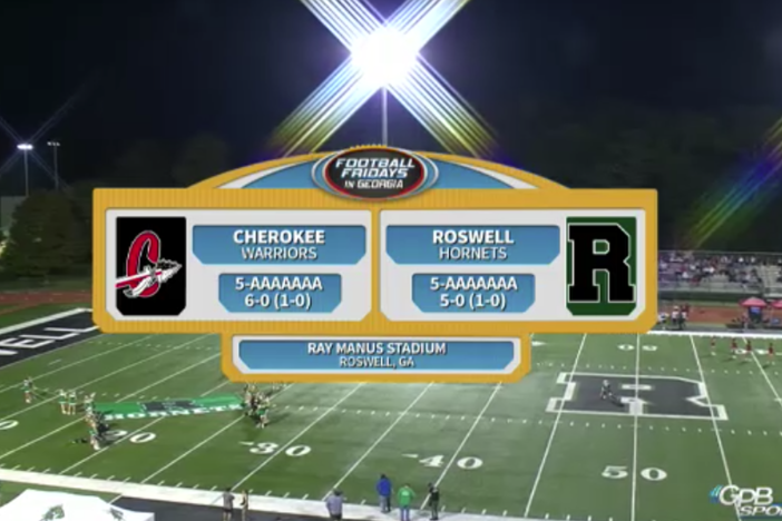 Cherokee at Roswell