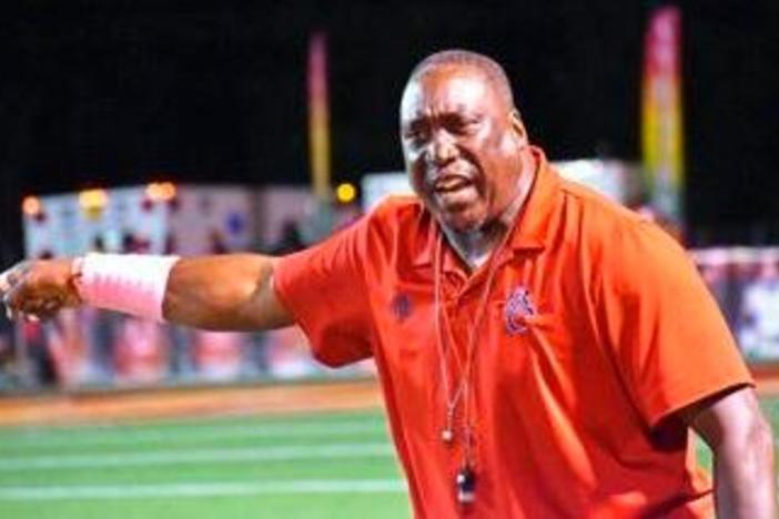 Brooks County coach Maurice Freeman