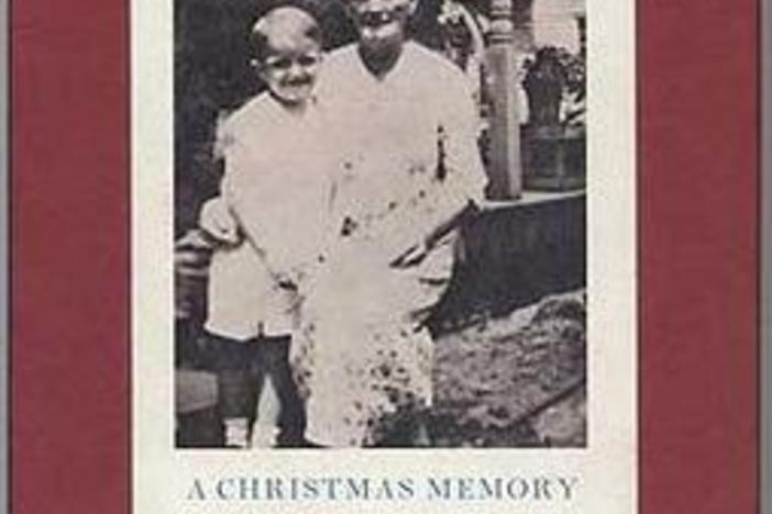 "Truman Capote's ""A Christmas Memory"" book cover in 1966."