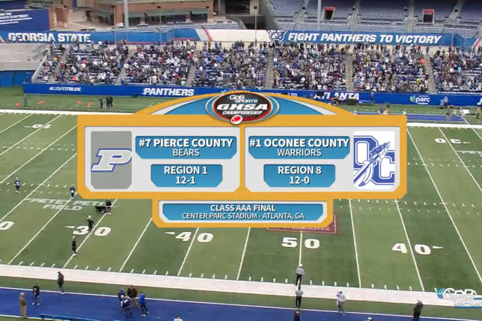 Class AAA Finals – Pierce County vs Oconee County
