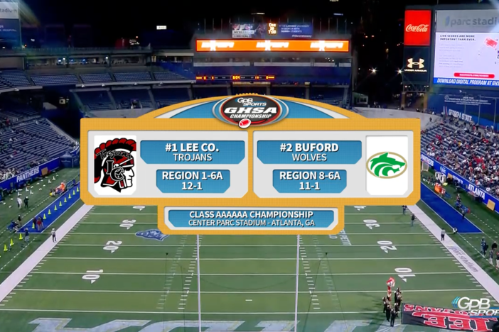 Class AAAAAA Finals – Lee County vs Buford