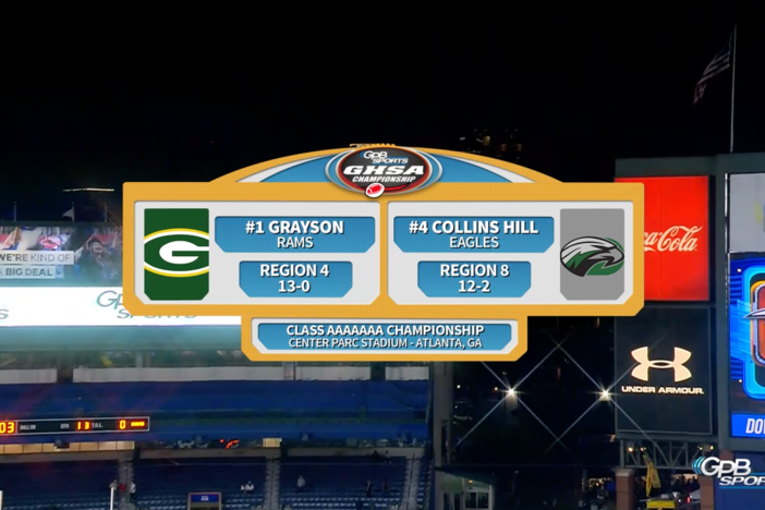 Class AAAAAAA Finals – Grayson vs Collins Hill