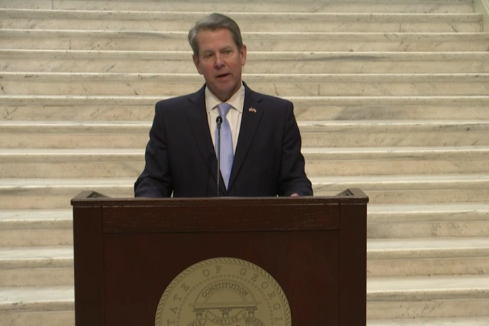 Gov. Brian Kemp on Jan. 26, 2021.