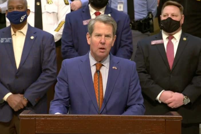 Governor Kemp announces anti street racing legislation