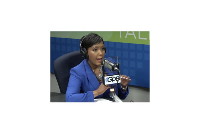 Mayor Keisha Lance Bottoms in GPB Studios