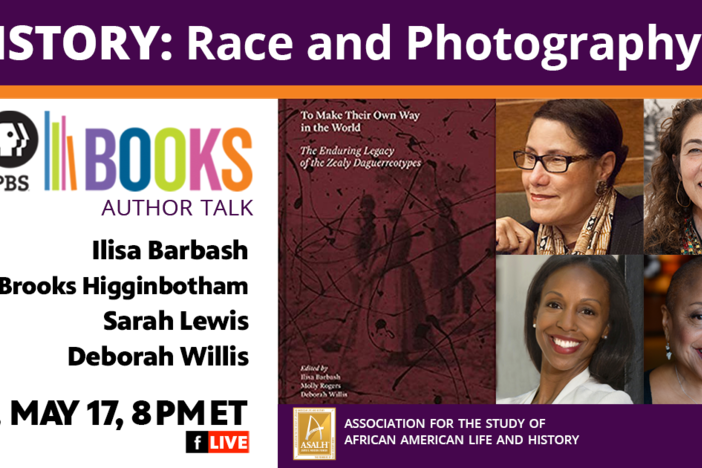 PBS Books Author Talk on History, Race and Photography