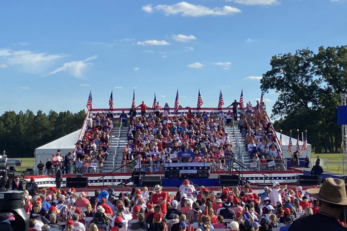 Political Rewind: Lingering GOP Schism Takes Center Stage At Ga. Trump Rally