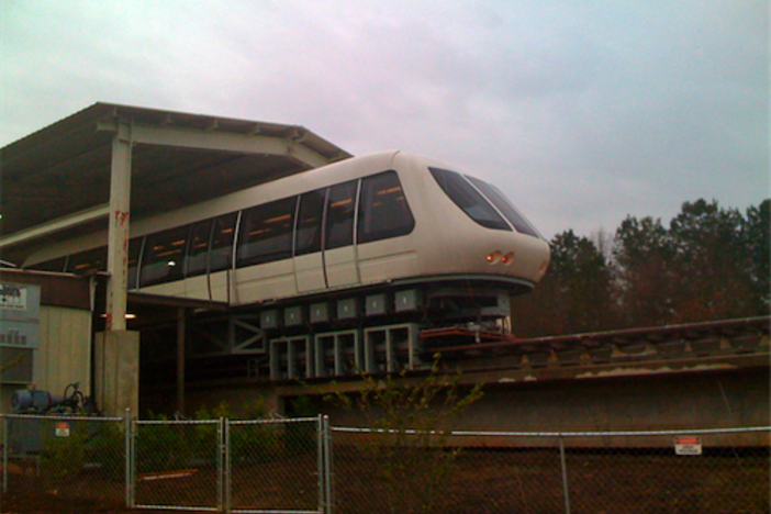 A Maglev Train Built in Powder Springs, GA Could Change Public Transportation