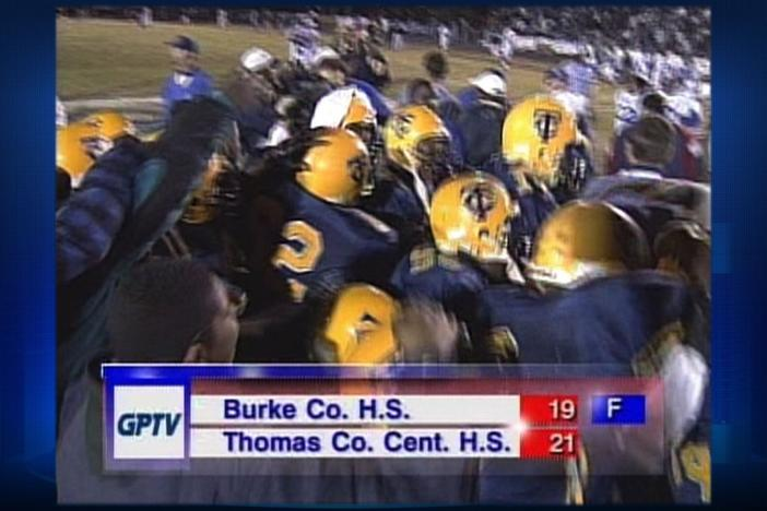 Thomas Co. Central defeats Burke in the 1997 GHSA Championship