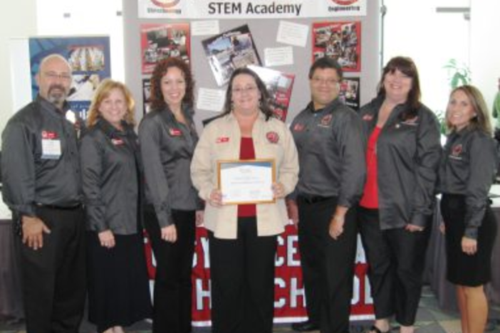 Forsyth Central STEM Academy was recently recognized as the best in Georgia (photo: Cumming Patch)