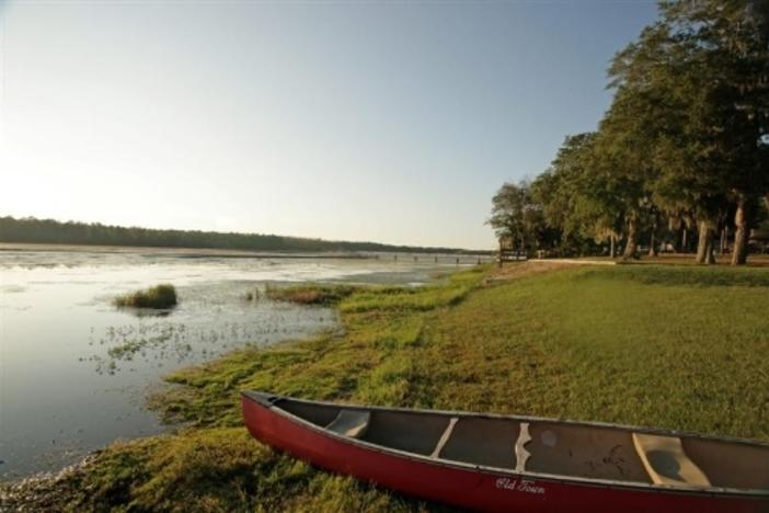 Little Ocmulgee State Park is one of hundreds of places you can find on your mobile device (photo www.exploregeorgia.org)