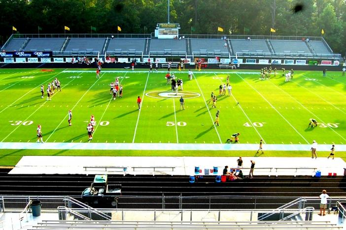 A hot August night at the home of the Grayson Rams officially kicked off a Football Fridays in Georgia season that has flown by.