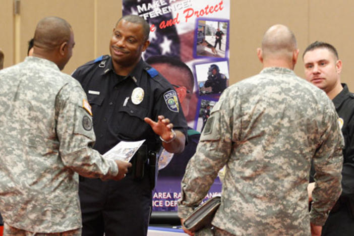 There will be over 25 employers and agencies at the Veteran Career fair on Thursday, Sept. 26th.