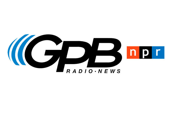 Georgia Public Broadcasting Radio and News, National Public Radio logos.