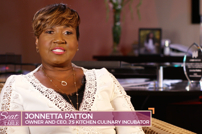Meet Jonnetta Patton, the owner and CEO of J's Kitchen Culinary Incubator.