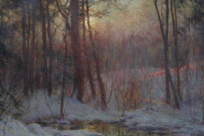 Appraisal: Walter Launt Palmer Painting, ca. 1900, from Baltimore Hour 1.