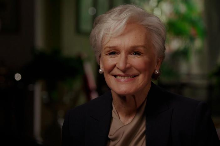 Glenn Close learns that she is directly related to Princess Diana.
