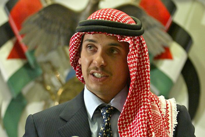 A long-simmering royal family feud is publicly boiling over in Jordan