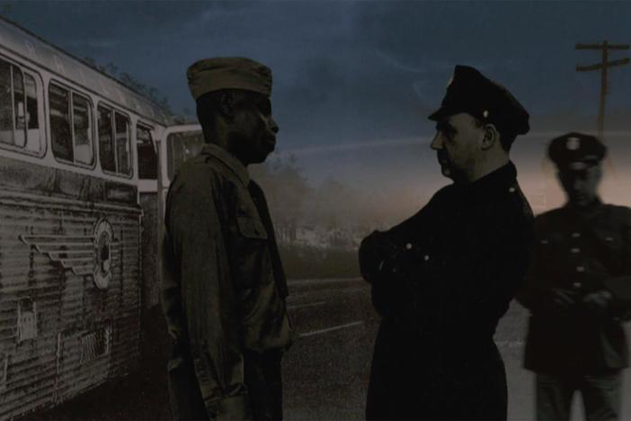 In 1946, a local police chief savagely beat and permanently blinded a Black army sergeant.