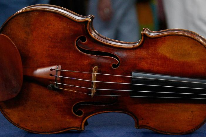 Appraisal: 1798 Nicolas Lupot Violin & Peccatte-style Bow, from Baltimore Hour 3.
