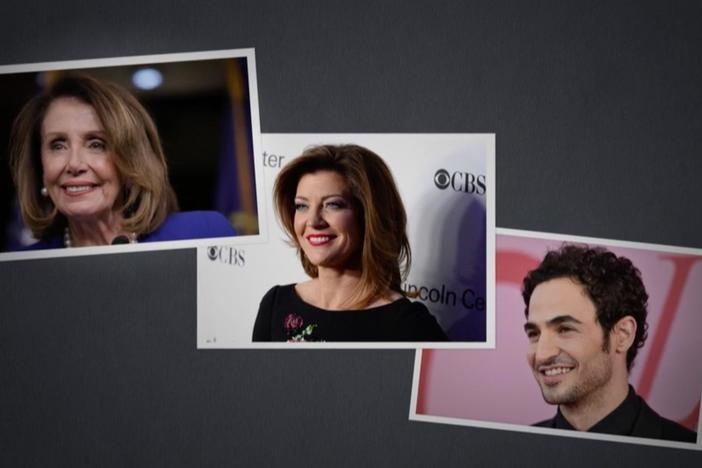Nancy Pelosi, Norah O'Donnell, and  Zac Posen discover surprising roots.