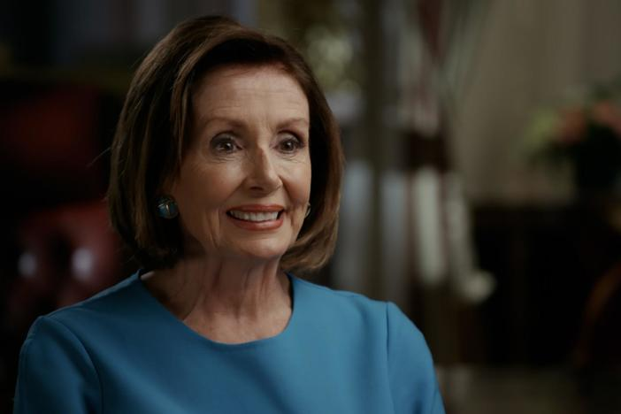 Nancy Pelosi talks about her family's political roots.
