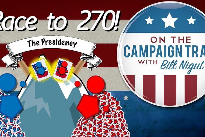 Learn the difference between the popular and the electoral vote, and about swing states!
