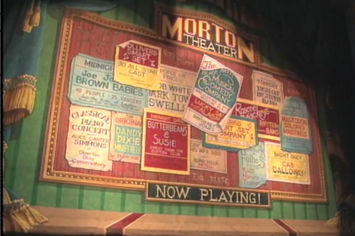 "Monroe Bowers Morton was known as ""Pink"" for his light skin. He built the Morton Theater."