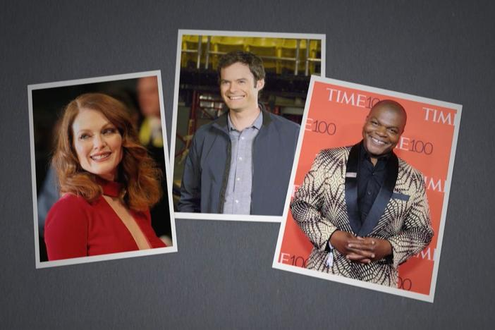 Julianne Moore, Bill Hader, and Kehinde Wiley discover surprising roots.