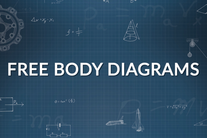 We break down how to draw free body diagrams and work through three different examples.