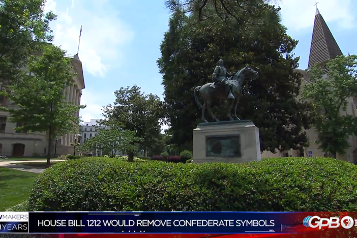 Day 36 in the Georgia Legislator sees a new bill proposal banning Confederate imagery.