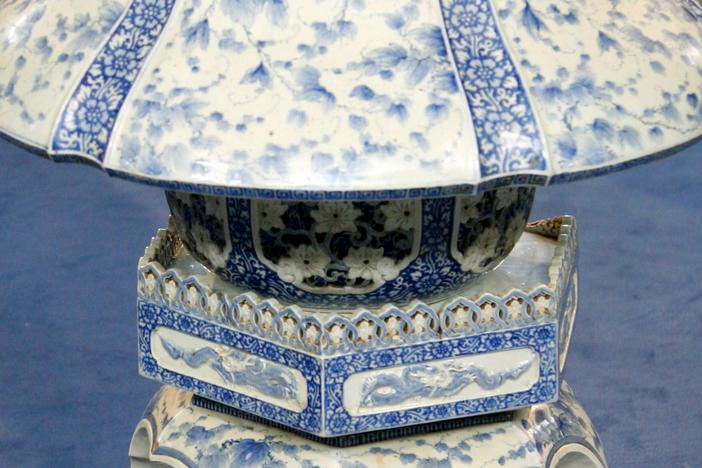 Appraisal: Japanese Porcelain Lantern, ca. 1900, from Baltimore Hour 2.