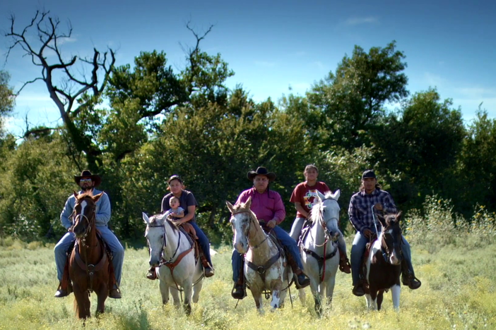 Horses continue to be an important part of Comanche identity and tradition.