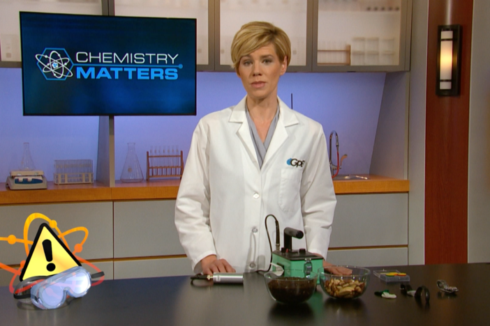 This segment explains how nuclear fission creates new elements.