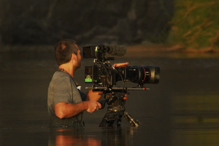 "Filmmaker Skip Hobbie discusses his and the crew's experience making ""Big Bend."""