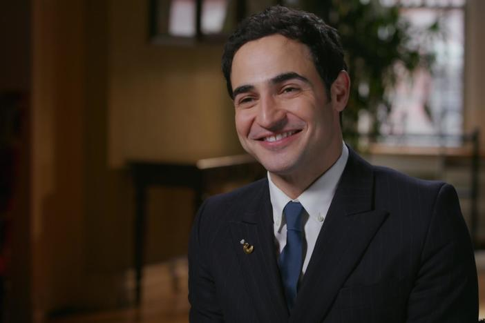 Zac Posen discovers his Great Great Grandfather immigrated to the United States.