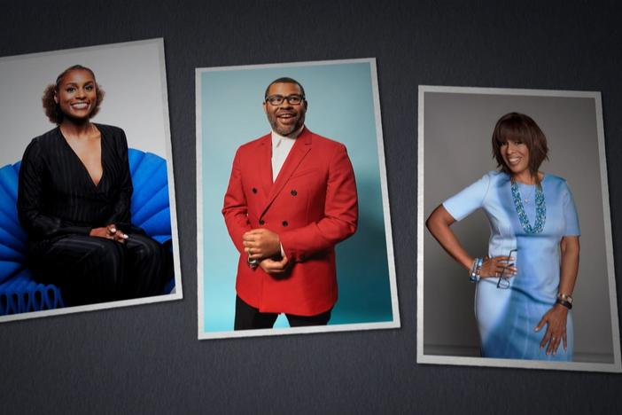 Gayle King, Jordan Peele, and Issa Rae discover surprising roots.